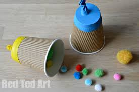 Paper Cup Pom Poppers