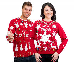 christmas sweater kit free led ornaments included