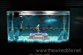 Dragon Ball Z Fish Tank Decorations by Zelda Fish Tank Decorations Graphic Designer Creates A Zelda