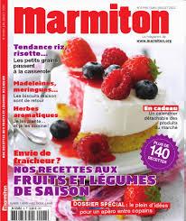 magazine de cuisine sortie du marmiton magazine n 6 papillon en cuisine