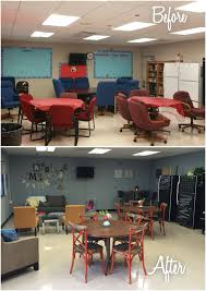 Teachers Lounge Makeover …   Staff Lounge, Teachers Room ... Ashley Fniture Homestore Gives Back To Teachers At Local Safety Tips For An Active Learning Environment Lounge Jenny Ran The Asian Day Teacher Appre Queer Eye Season 4 Kathi The Makeover And Reveal Bobby Berk Lounge Naperville School Gets Makeover On A Charles Eames Chair Dcw Herman Miller Circa 1950 Fxible Classrooms Assembly Required Edutopia Emagineiteducators Faculty Room Budget Facilities Beaufication