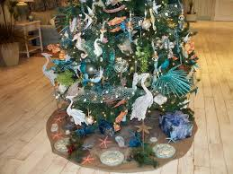 Interior Rec Centers Stick With Ocean Theme Decorations For Holiday Decent Beach Themed Christmas Tree