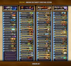 hearthstone deck list mech mage complete decklists from kinguin for charity
