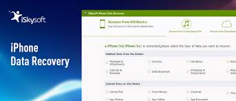 iSkysoft iPhone Data Recovery and Its Best Alternative