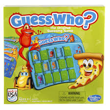 Guess Who Game New Free Shipping