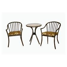 Garden Treasures Patio Furniture Manufacturer by Furniture Wonderful Lowes Bistro Set For Patio Furniture Idea