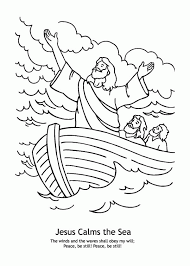Full Size Of Coloring Pagestorm Page Free Printable Jesus Calms The 27 With