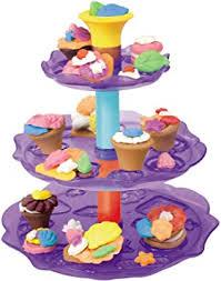 11 knetset cupcake etagere 15teile tlg kneten spielzeug