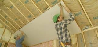 hanging drywall on ceiling tips how to cut and hang drywall today s homeowner