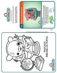 Octonauts Tunip Coloring Pages