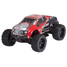 100 Red Monster Truck Cat Racing Volcano EPX 110 Scale Electric 19T