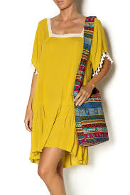kori america mustard yellow dress from arkansas by vintage glam