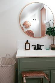 Bathroom Updated Half Bathroom Room Design Green White And