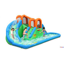 Inflatable Water Slides: The Bounce House Store Water Park Inflatable Games Backyard Slides Toys Outdoor Play Yard Backyard Shark Inflatable Water Slide Swimming Pool Backyards Trendy Slide Pool Kids Fun Splash Bounce Banzai Lazy River Adventure Waterslide Giant Slip N Party Speed Blast Picture On Marvellous Rainforest Rapids House With By Zone Adult Suppliers