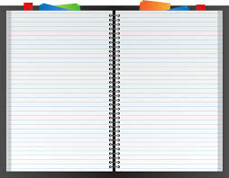Ruled Paper Planner Free Stock Public Domain