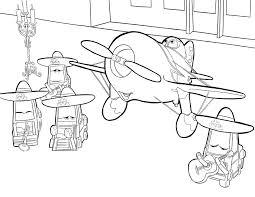 Disney Planes Printable Dusty Coloring Pages