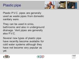 Pictures Types Of Pipes Used In Plumbing by Materials Used For Plumbing Copper Copper Pipe Is The Most