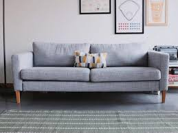 Karlstad Sofa Leg Hack by Replacement Legs For Karlstad Sofa Ikea Hack Replacing Legs On An