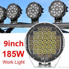 9 Inch 185w 6000k Work Driving Lights Spot / Flood Light Hid Vehicle ... Truck Lite Led Spot Light With Ingrated Mount 81711 Trucklite Work Light Bar 4x4 Offroad Atv Truck Quad Flood Lamp 8 36w 12x Work Lights Bar Flood Offroad Vehicle Car Lamp 24w Automotive Led Lens Fog For How To Install Your Own Driving Offroad 9 Inch 185w 6000k Hid 72w Nilight 2pcs 65 36w Off Road 5 72w Roof Rigid Industries D2 Pro Flush Mount 1513 180w 13500lm 60 Led Work Light Bar Off Road Jeep Suv Ute Mine 10w Roundsquare Spotflood Beam For Motorcycle