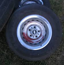 Chevy Truck Rally Wheels 15 X 8 W Tires 5 Lug