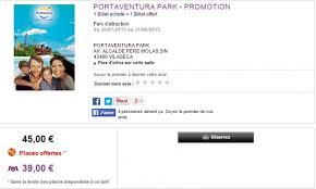 port aventura offre spéciale été 1 billet acheté 1 billet