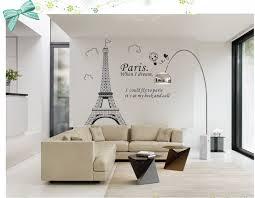 paris eiffel tower bathroom home decor wall decals family bedroom