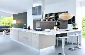 cuisine am駻icaine avec ilot central modele de cuisine ouverte cuisine equipee americaine modele de