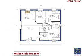 surface chambre atoll maisons cledor constructeur de maisons individuelles