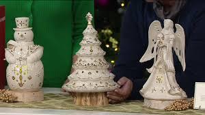 Qvc Pre Lit Christmas Trees by Lenox Lit Florentine U0026 Pearl Porcelain Figurine W 24k Gold Accents