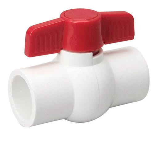 B & K Industries PVC Ball Valve - 3/4in