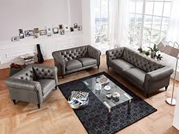 moebella leder chesterfield sofas 3 2 1 sitzer sitzgarnitur