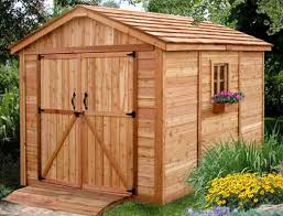 outdoor living today 8x8 spacemaker storage shed sm88 free