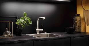 schwarzstahl als arbeitsplatte in der küche eine sinnvolle