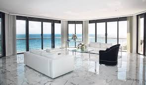Glazing White Marble Flooring