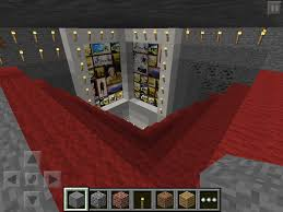 Minecraft Kitchen Ideas Pe by Minecraft Pocket Edition Maple Kitchen Cabinets And Wall Color