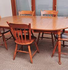 Ethan Allen Mahogany Dining Room Table by Ethan Allen Laminate Kitchen Table And Chairs Ebth