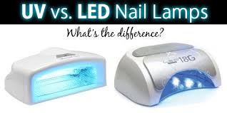 what s the difference between uv and led nail ls chickettes