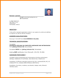 Resume Format Free Download Template International Cv In Word For 17