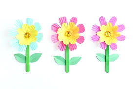 Best Cupcake Liners These Simple Liner Flowers Are So Easy To Make And They Look Pretty