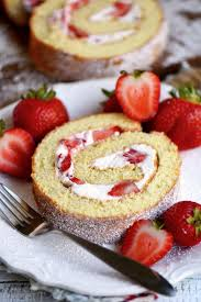 This Strawberry Shortcake Roulade is the perfect summer dessert Cake rolls are always stunning but