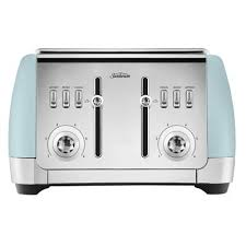 Sunbeam London Collection 4 Slice Toaster Blue