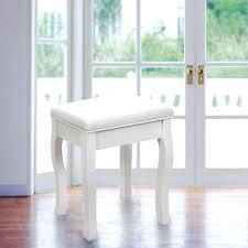 tabouret pour coiffeuse tabouret pour coiffeuse en bois blanc avec