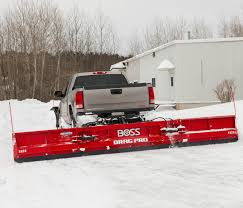 100 Trucks In Snow BOSS Plow Drag Pro