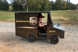 100 Ups Truck Toy UPS Driver Surprises 5YearOld Boy With His Own For Birthday