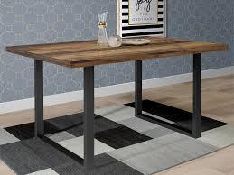 möbelando esszimmertisch speisetisch esstisch küchentisch holztisch tisch talbert ii wood vintage schwarz