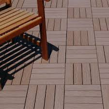 china recycled plastic flooring indoor outdoor tile flooring wpc