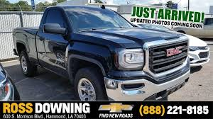 Used GMC Trucks For Sale In Hammond, Louisiana | Used GMC Truck ... Coeur Dalene Used Gmc Sierra 1500 Vehicles For Sale Smithers 2015 Overview Cargurus 2500hd In Princeton In Patriot 2017 For Lynn Ma 2007 Ashland Wi 2gtek13m1731164 2012 4wd Crew Cab 1435 Sle At Central Motor Grand Rapids 902 Auto Sales 2009 Sale Dartmouth 2016 Chevy Silverado Get Mpgboosting Mildhybrid Tech Slt Chevrolet Of