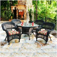 Patio Dining Sets Walmart by Furniture Walmart Wicker Patio Dining Sets Round 5 Piece Patio