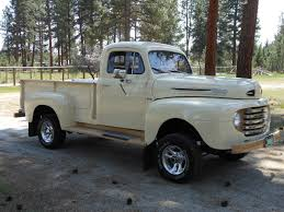 1950 Ford F100 Pickup Truck - 4x4 Conversion - Vintage Mudder ... 1951 Ford F3 Flatbed Truck No Chop Coupe 1949 1950 Ford T Pickup Car And Trucks Archives Classictrucksnet For Sale Classiccarscom Cc698682 F1 Custom Pick Up Cummins Powered Custom Sale Short Bed Truck Used In Pickup 579px Image 11 Cc1054756 Cc1121499 Berlin Motors