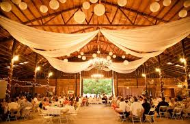 Rustic Barn Wedding Lighting Ideas